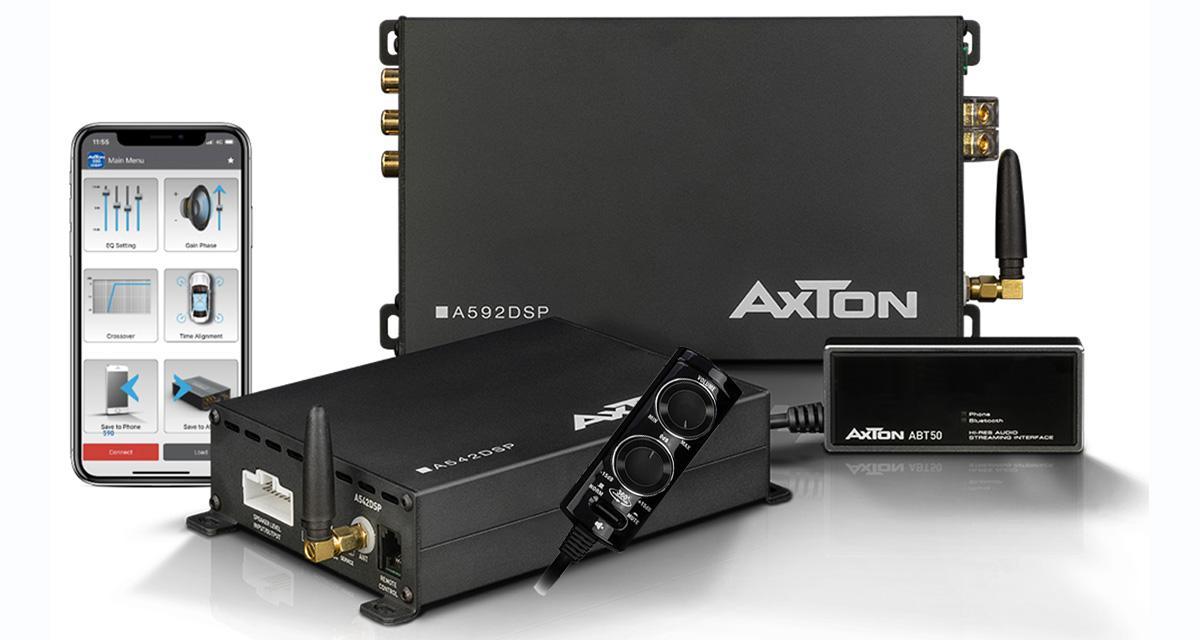La musique en audio streaming haute résolution pour les youngtimers, grâce au module Axton ABT50
