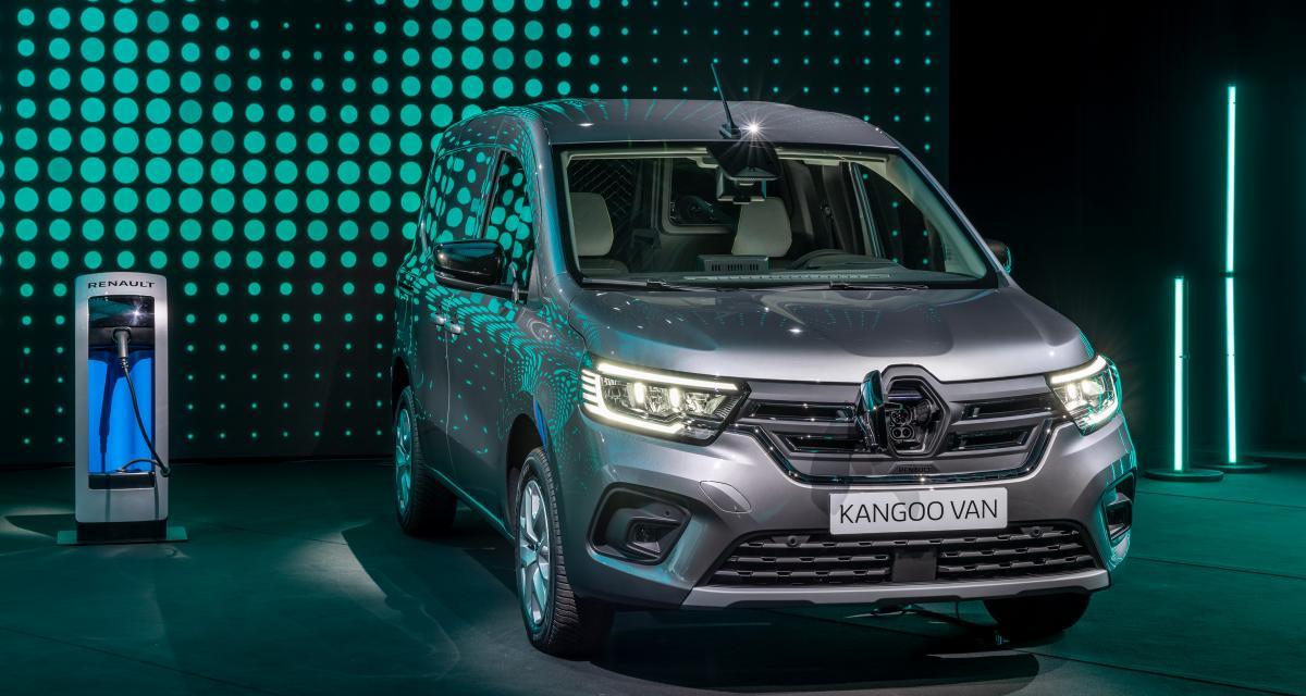 Nouveau Renault Kangoo Van (2021) : commandes ouvertes début avril, à partir de 20.700 € HT