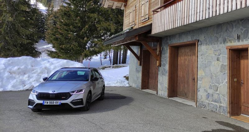 Essai nouvelle Skoda Octavia RS Combi (2021) : nos photos de la voiture des VRP