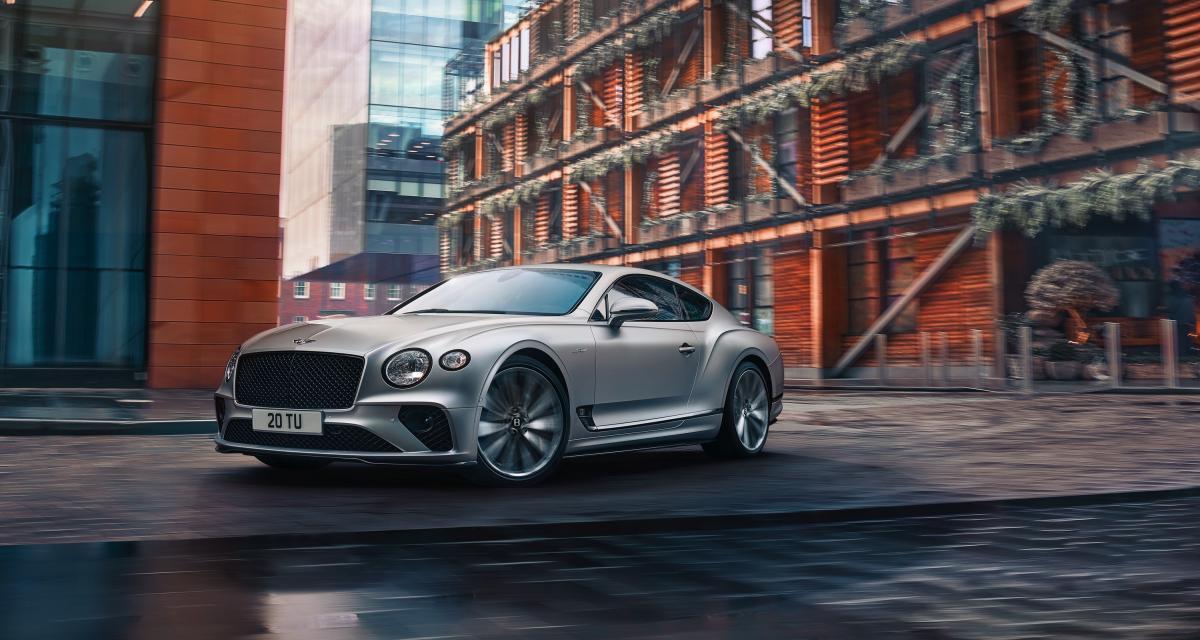 Bentley Continental GT Speed (2021) : le couteau-suisse britannique