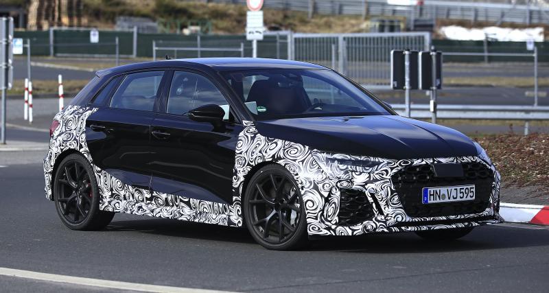 La future Audi RS3 (2022) sera plus affûtée que jamais