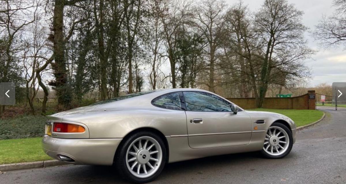 Une Aston Martin DB7 ayant appartenu à Roy Keane, ça vous intéresse ?