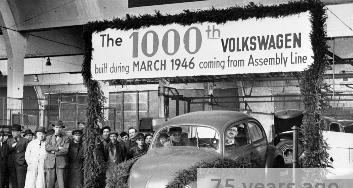 Volkswagen Coccinelle : il y a 75 ans, la production en série démarrait péniblement