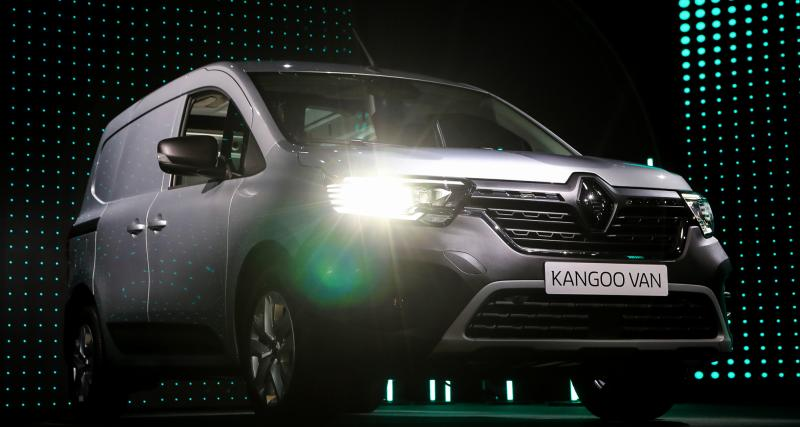 Renault Kangoo Van (2021) : nos photos du petit utilitaire français
