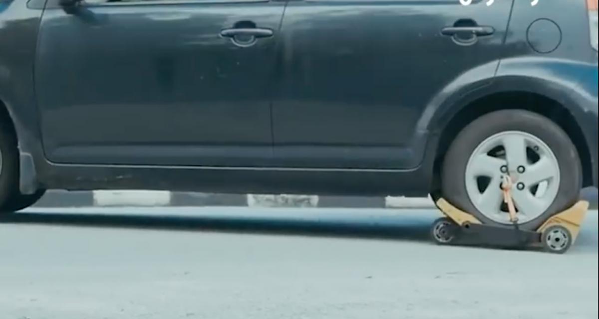 VIDEO - Ethar Trade : la roue de secours facile à installer en cas de crevaison