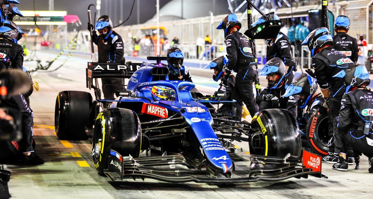 GP de Bahreïn de F1 : la réaction d'Alonso après son abandon