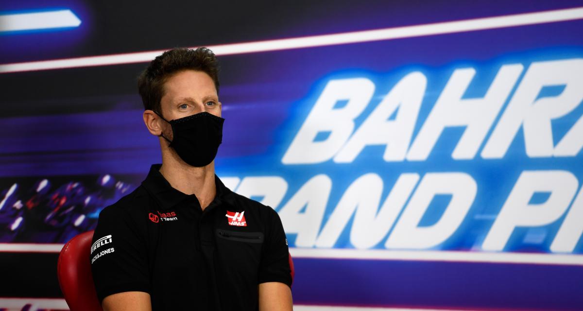 "GP de Bahreïn - Romain Grosjean : ""Belle bagarre entre Hamilton et Verstappen"""