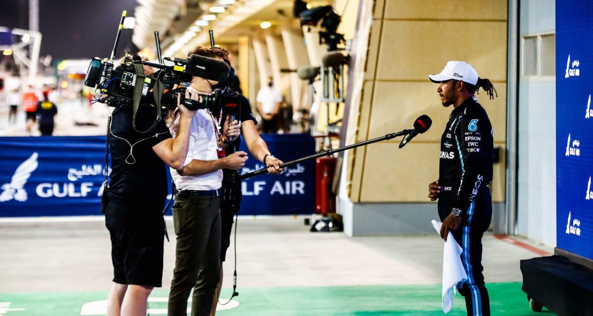 """GP de Bahreïn de F1- Sir Lewis Hamilton : """"on n'a pas la meilleure voiture"""" (vidéo)"""