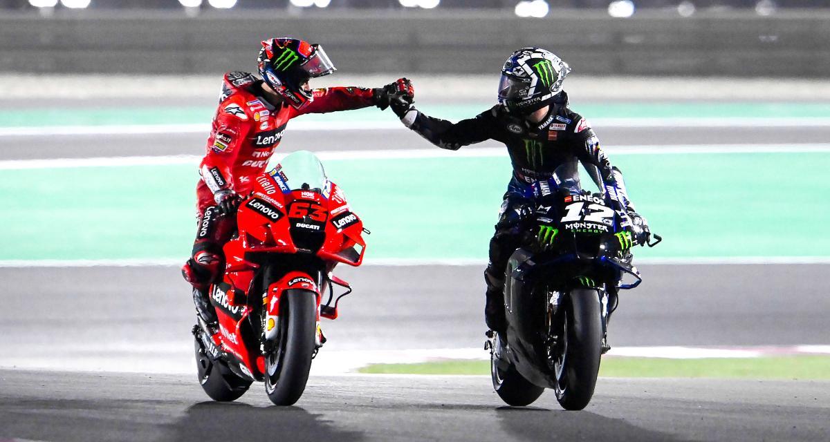 Grand Prix du Qatar de MotoGP : les cinq meilleurs moments de la course en vidéo