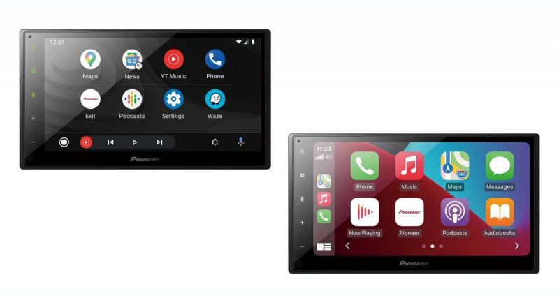 Pioneer dévoile un nouvel autoradio CarPlay et Android Auto à prix canon