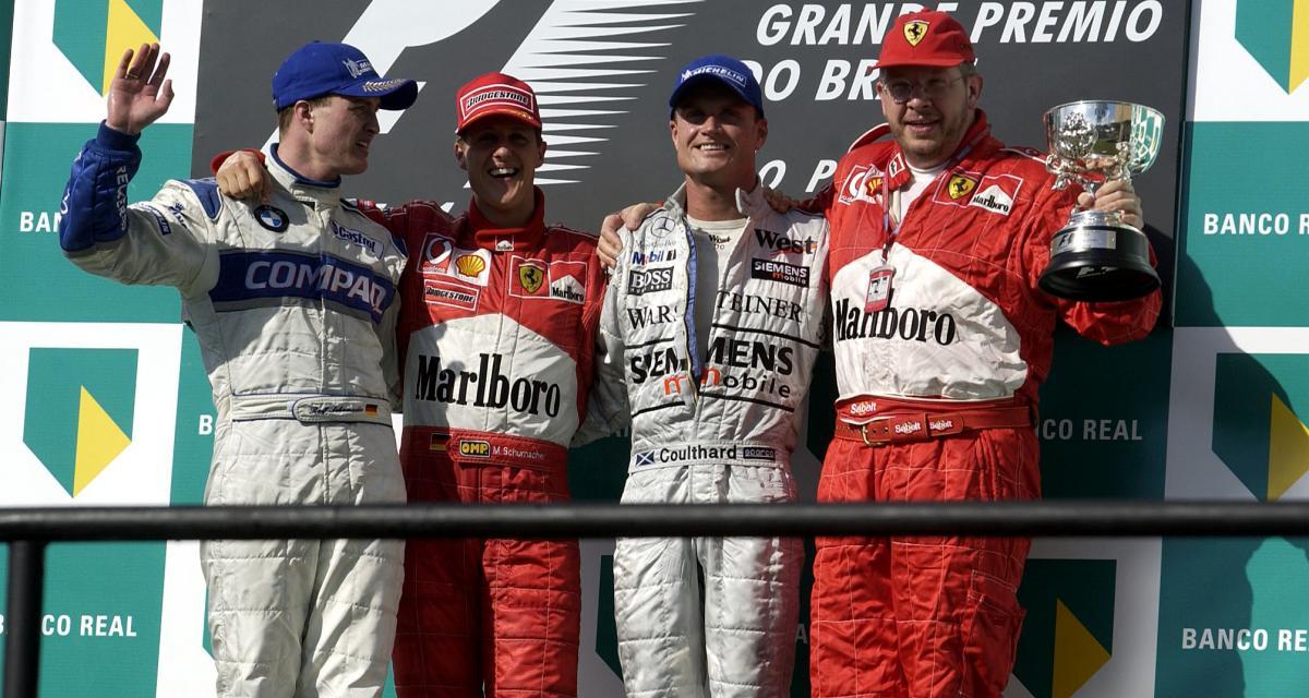 Il y a 19 ans… le 100e podium de Michael Schumacher en F1