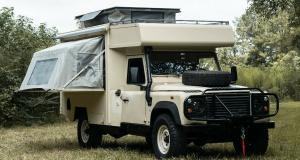 Land Rover Defender Osprey : camping-car de caractère à 100.000$