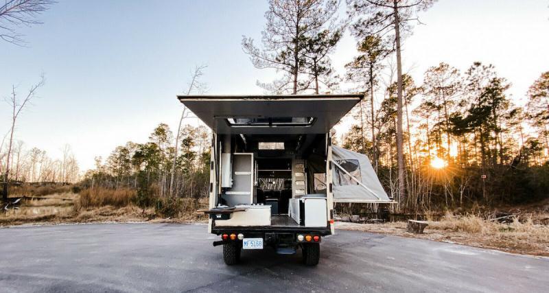 Camping-car baroudeur
