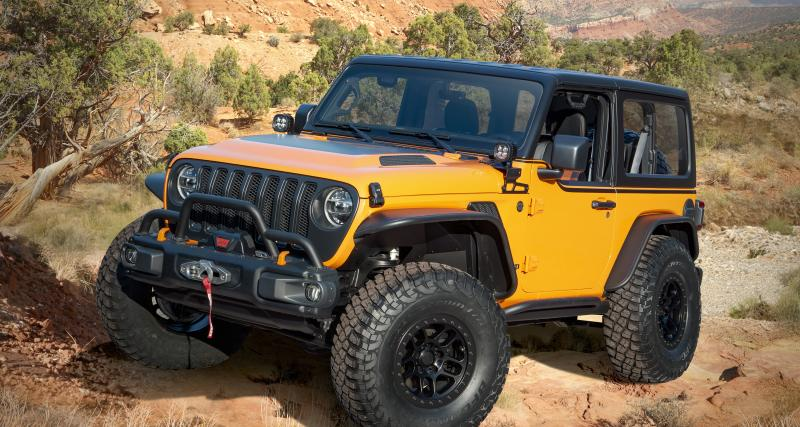 Jeep Orange Peelz : un Wrangler ultra-personnalisé qui vend du rêve