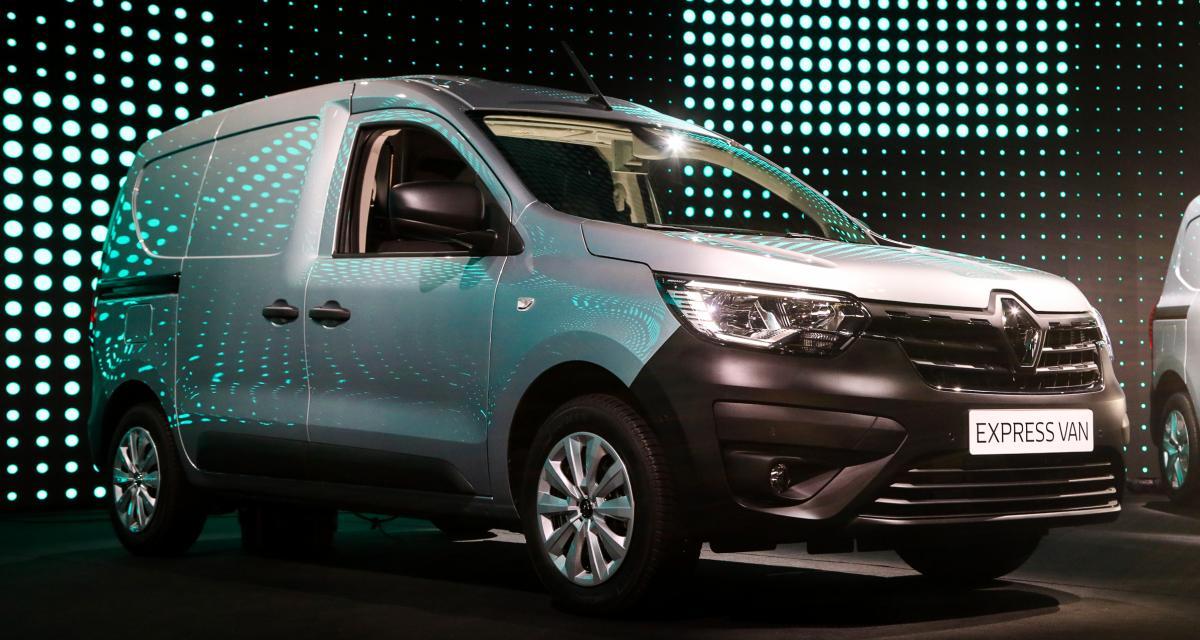 Renault Express Van (2021) : nos photos de l'utilitaire à ...