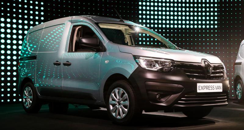 Renault Express Van (2021) : nos photos de l'utilitaire à bas coût
