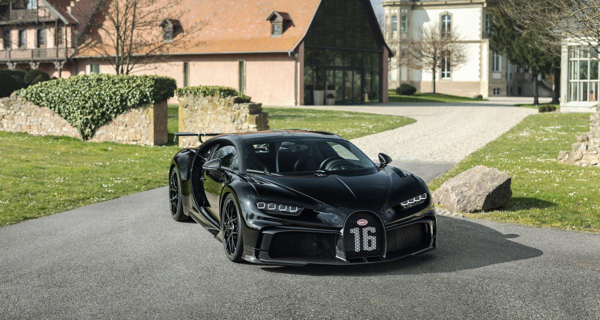 Bugatti Chiron : déjà 300 exemplaires fabriqués à Molsheim
