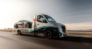 "Mercedes Sprinter ""AMG Petronas"" by Kegger ou comment dépanner avec style"