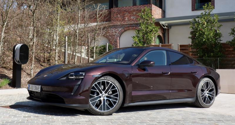 Essai de la Porsche Taycan propulsion : entrée de gamme, sorties fun