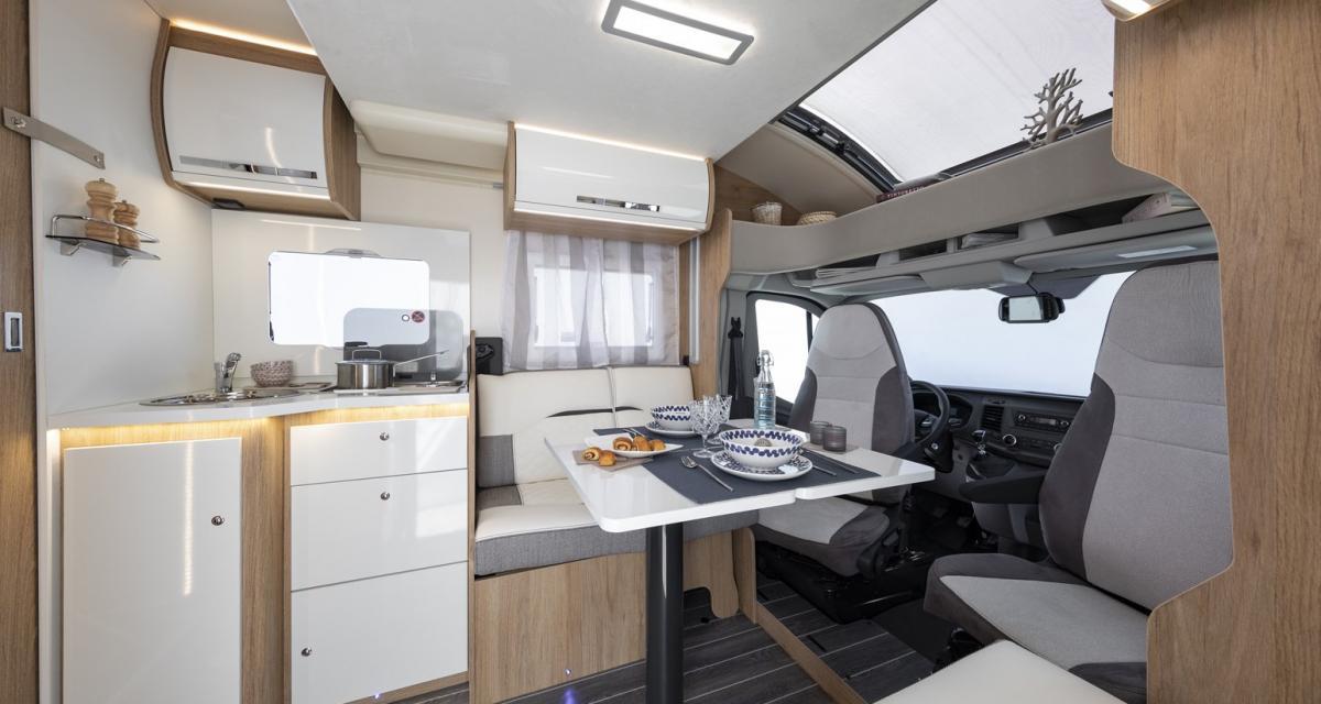 Camping-car CI Horon 66 XT : un profilé unique avec vasque centrale