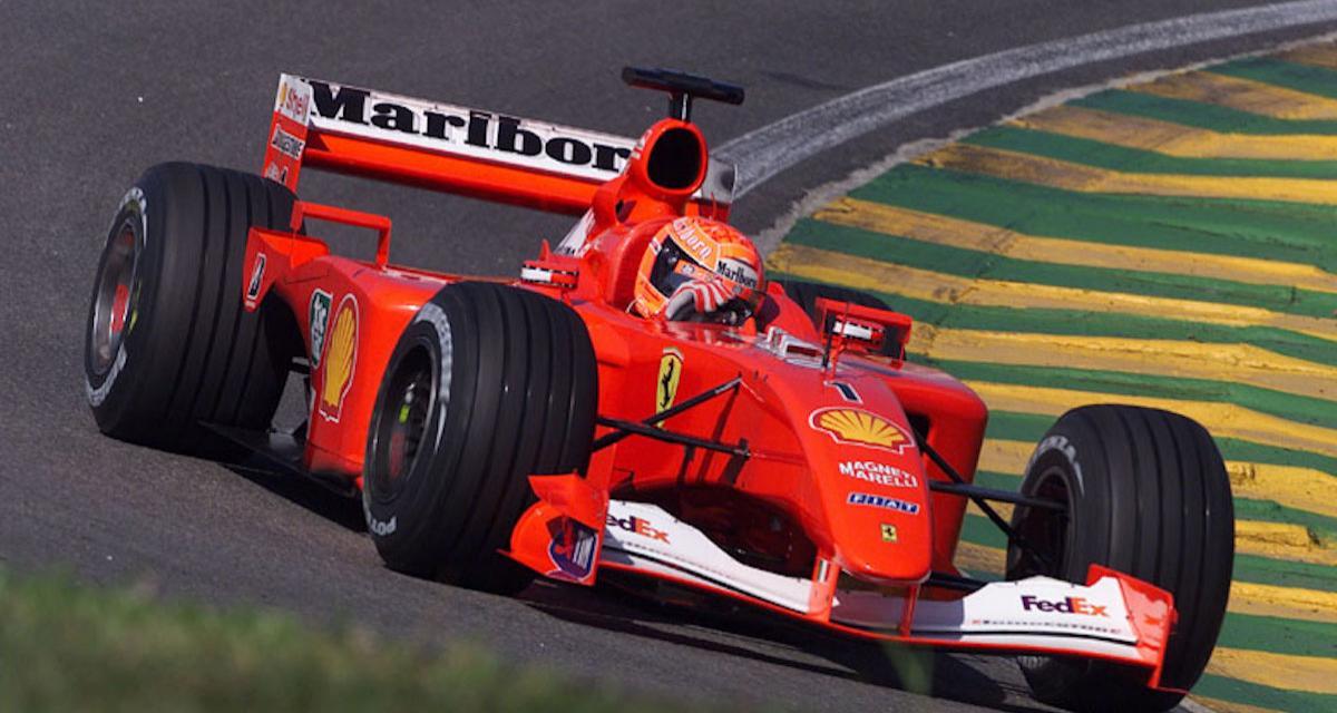Il y a 20 ans… la 140e pole position de la Scuderia Ferrari