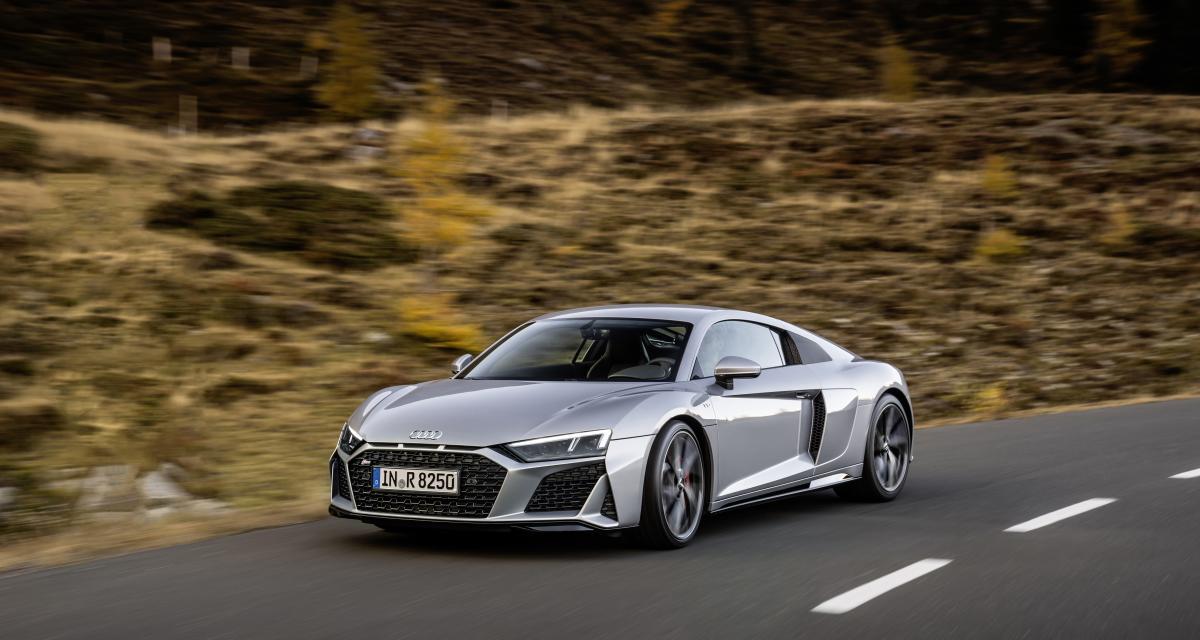 Le saviez-vous : le modèle Audi le plus rapide peut atteindre les 331 km/h