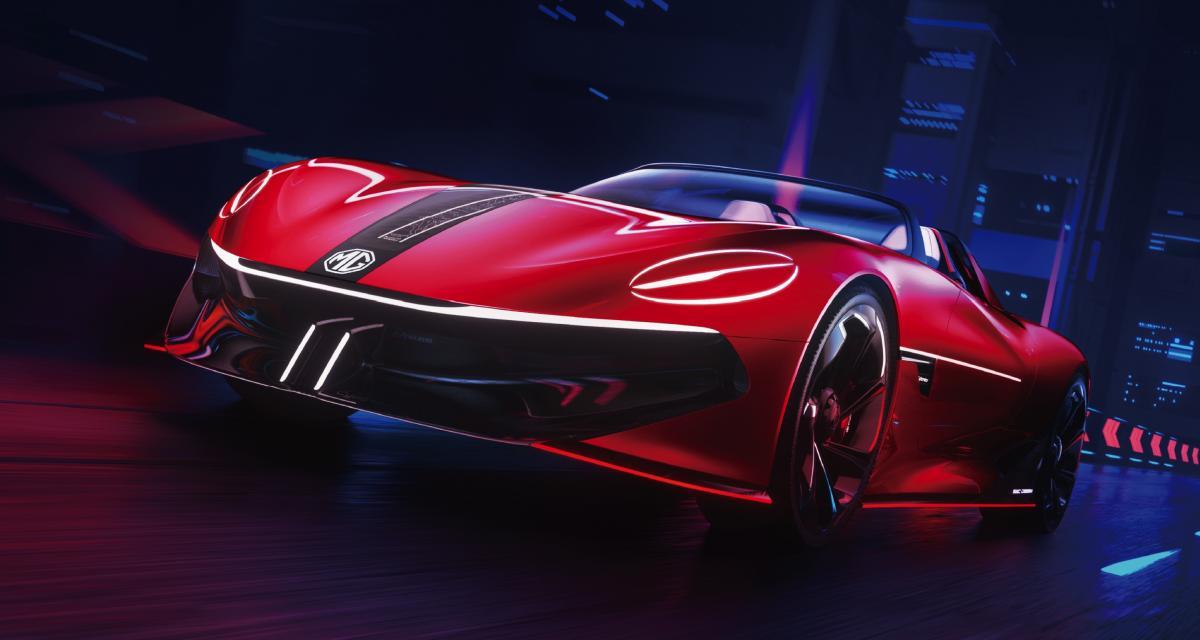 MG Cyberster : après les SUV électrifiés, le roadster 100% électrique ?