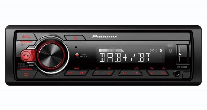 Pioneer commercialise un autoradio numérique DAB à prix canon