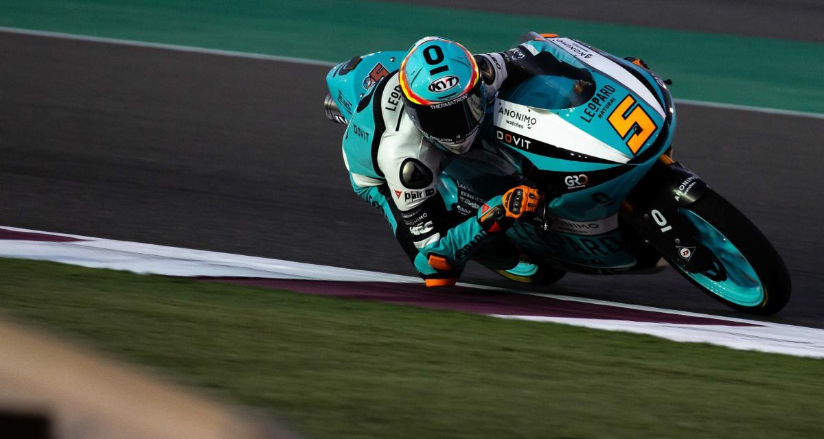 Essais libres 1 du GP de Doha de Moto3 : les résultats