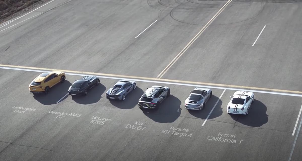 VIDEO - La nouvelle Kia électrique détruit une Ferrari, une Lamborghini et une McLaren dans une drag race