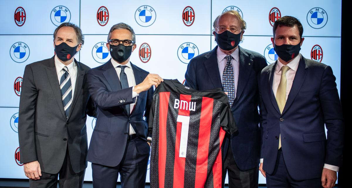 Mercato : l'AC Milan quitte Audi et signe chez un concurrent avec BMW