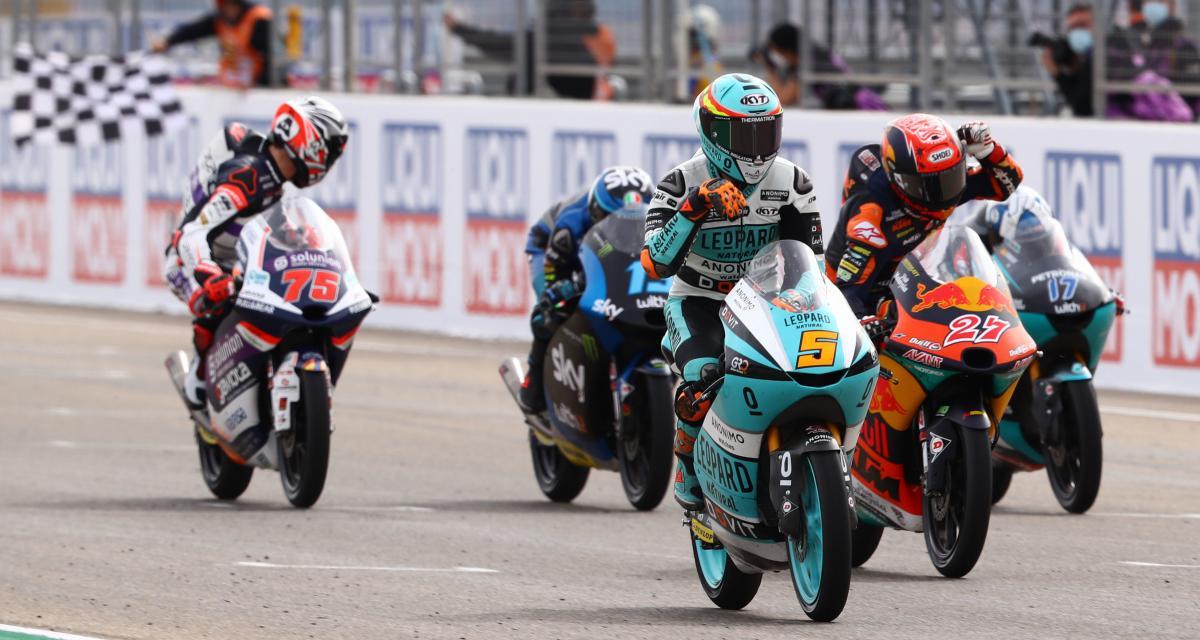 GP de Doha de Moto3 : la grille de départ