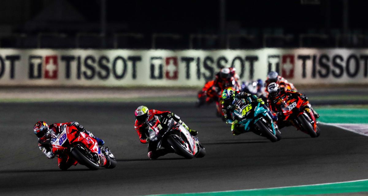 GP de Doha de MotoGP : la grille de départ