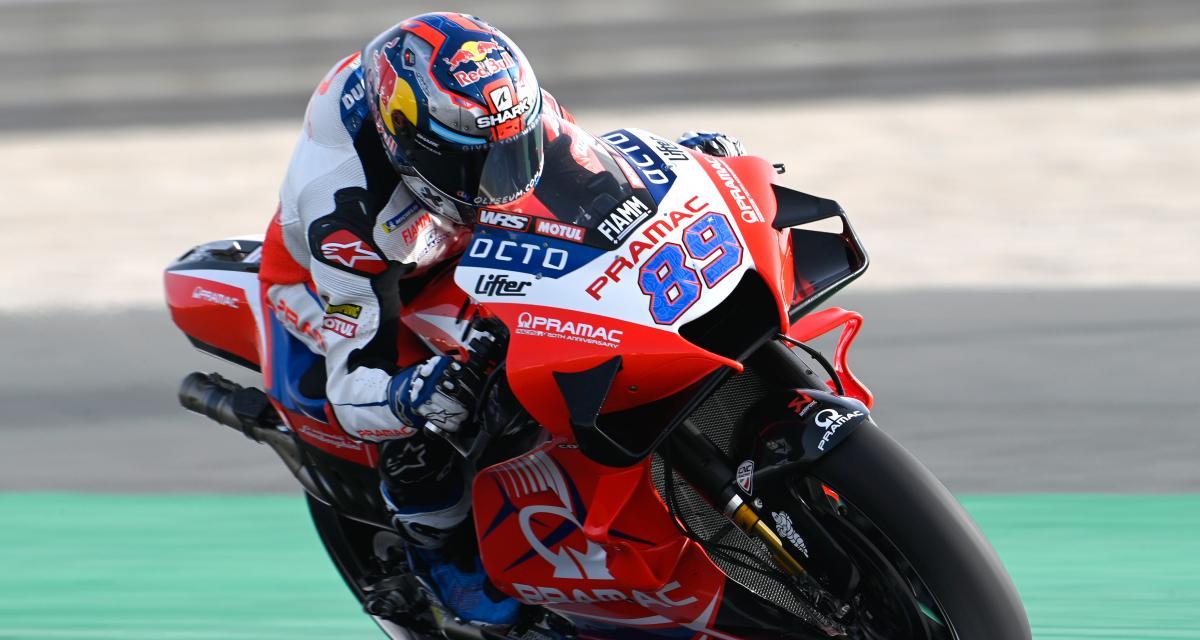 GP de Doha de MotoGP : la réaction en vidéo de Jorge Martin après sa pole