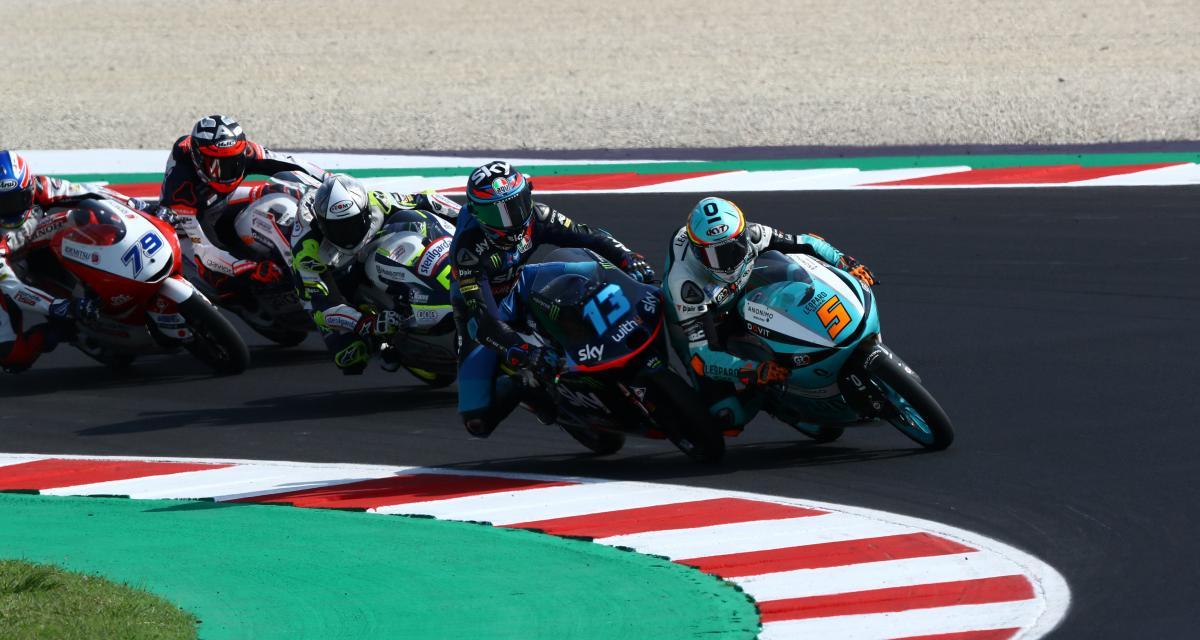 GP de Doha de Moto3 : le départ en vidéo