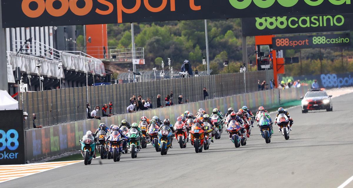 GP de Doha de Moto2 : le départ en vidéo