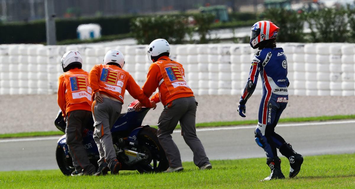 GP de Doha de Moto2 : la chute de Joe Roberts en vidéo