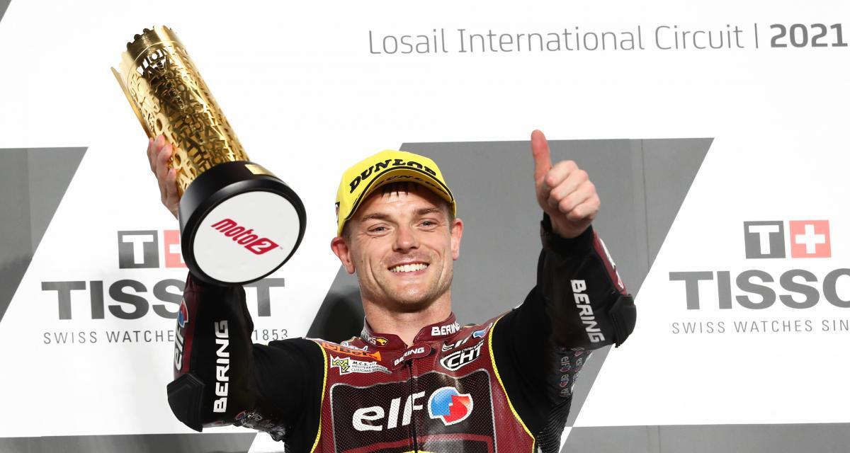 Moto 2 GP de Doha : un brillant Sam Lowes s'impose à nouveau au Qatar (vidéo)
