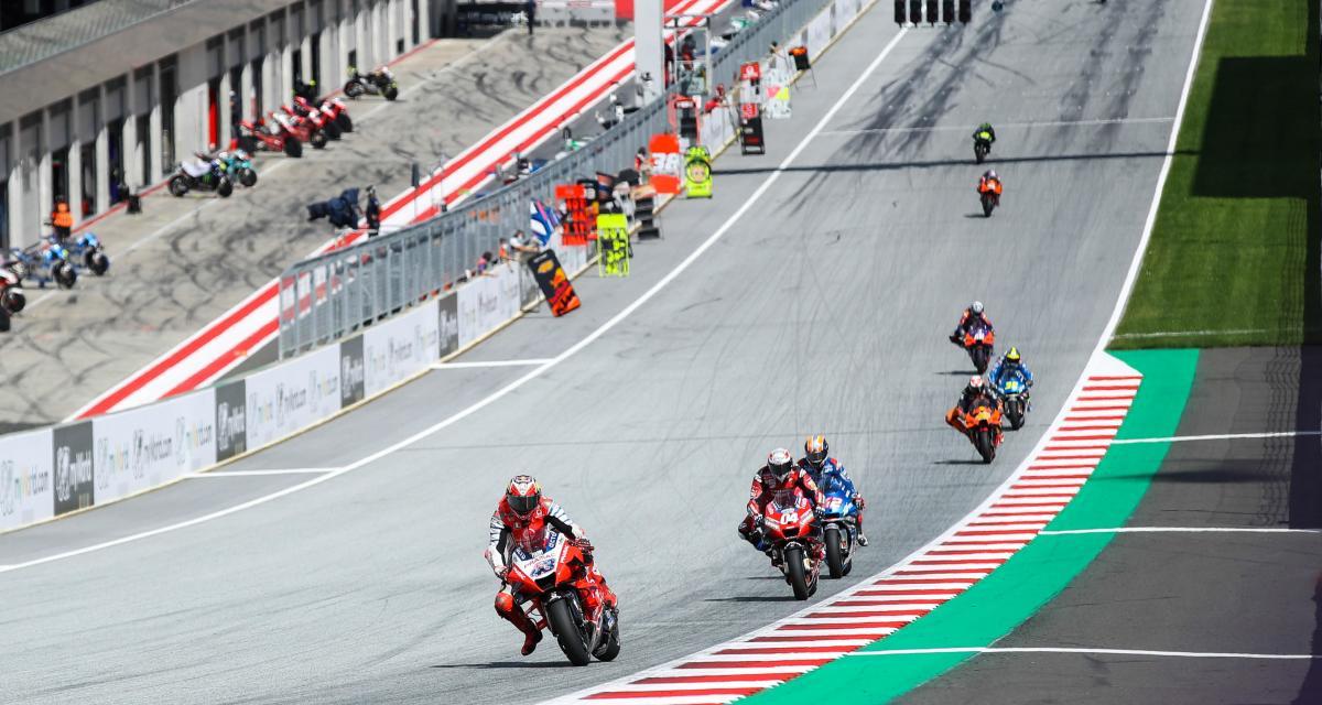 GP de Doha de MotoGP : le départ en vidéo