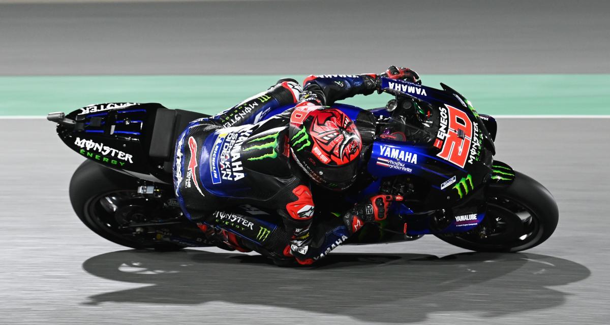 GP de Doha de MotoGP : le dépassement de Quartararo sur Martin