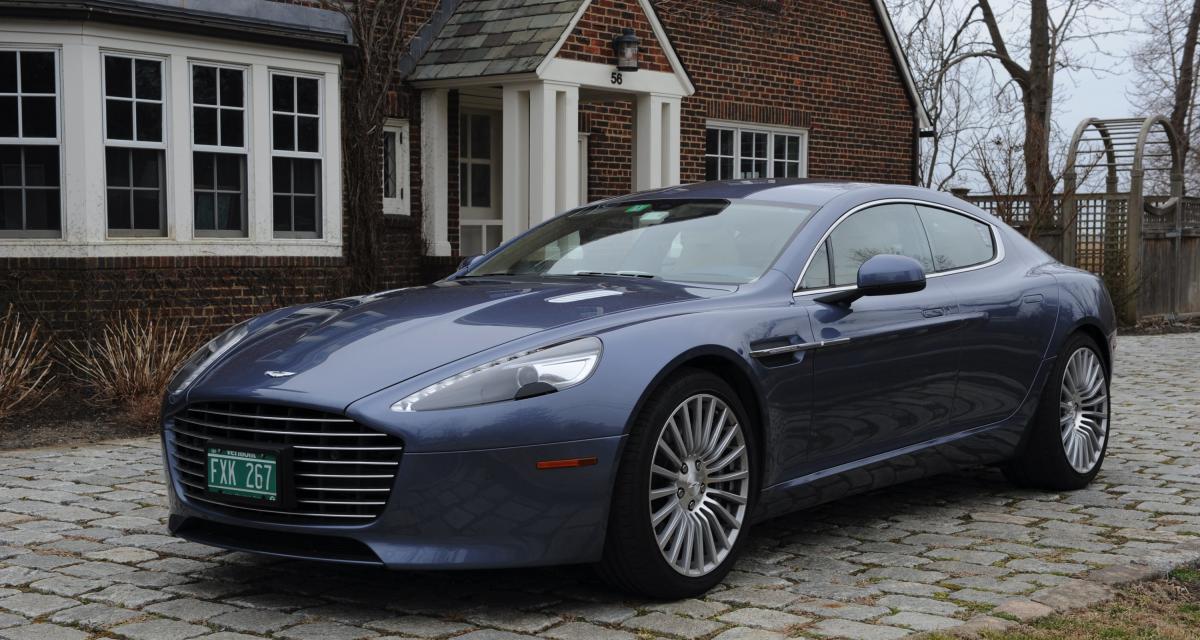 Aston Martin Rapide : la berline-coupé la plus élégante de tous les temps ?