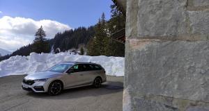 Essai de la nouvelle Skoda Octavia RS Combi : pour le VRP pressé