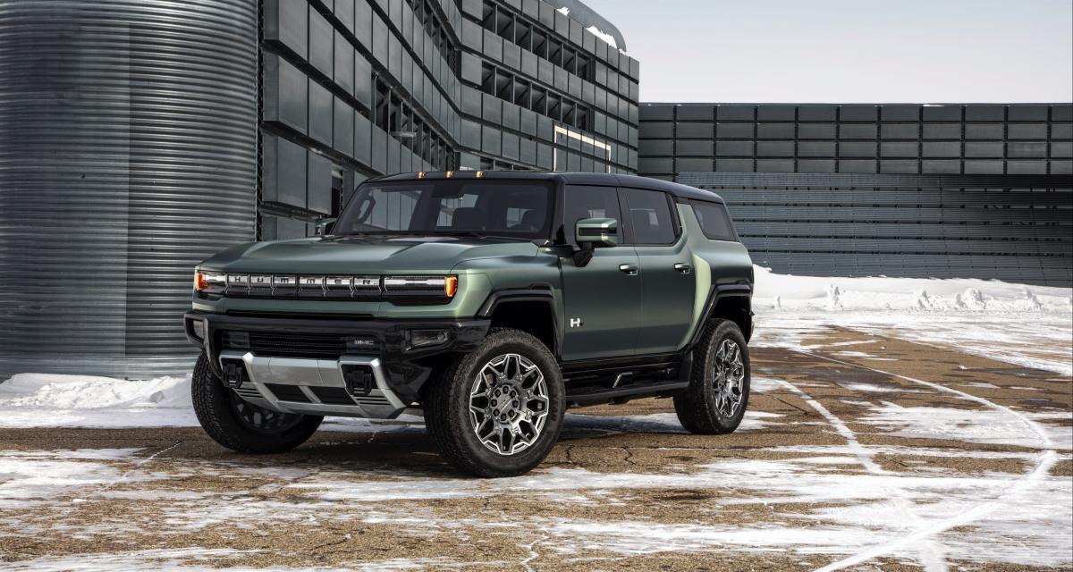 Hummer EV (2024) : le pick-up 100% électrique décliné en SUV