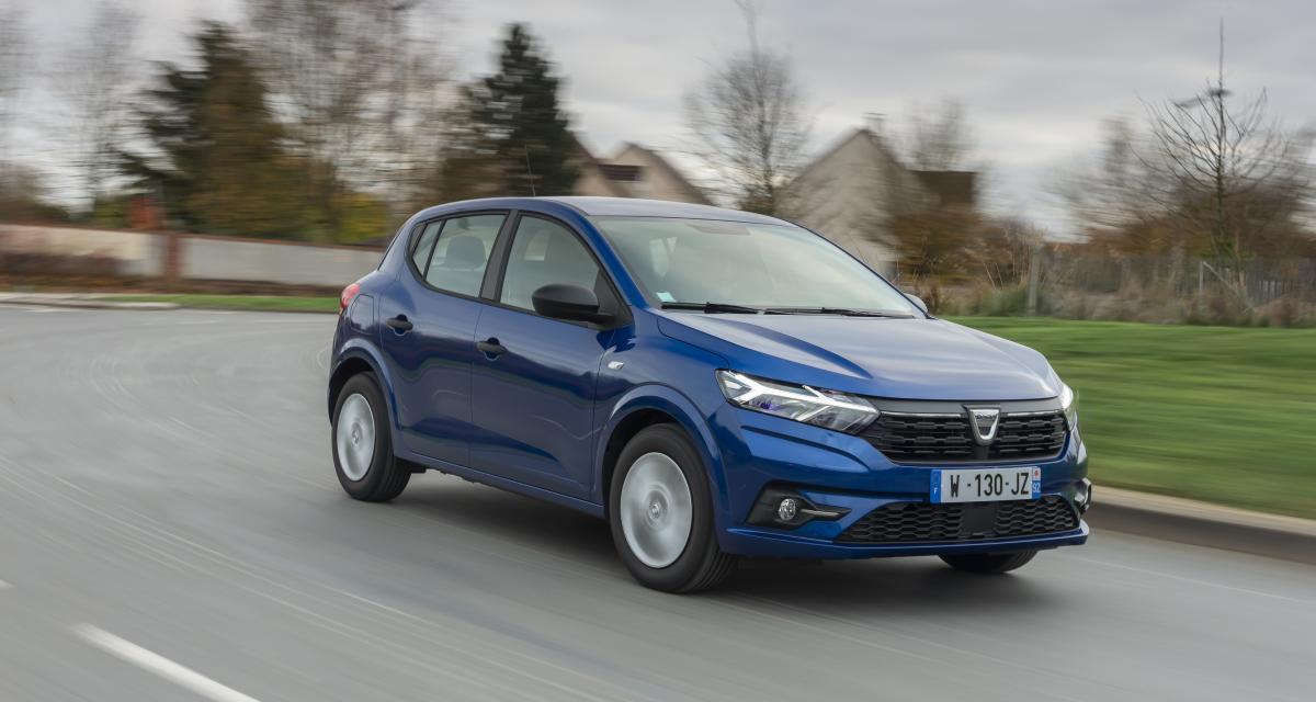 Nouvelle Dacia Sandero (2021) : combien d'exemplaires vendus en 2021 ?