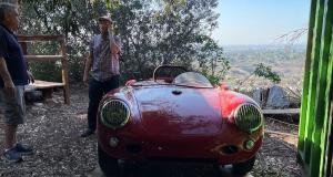 Porsche 550 Spyder : une sortie de grange comme on en rêve tous