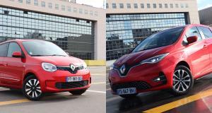 Renault Twingo Electric vs Renault Zoé : match électrique