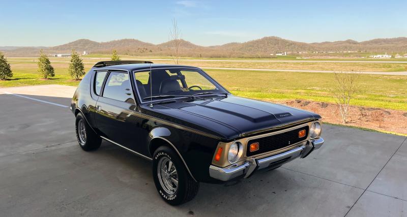 AMC Gremlin X : quand les Américains glissaient un V8 5.0 dans une sous-compacte