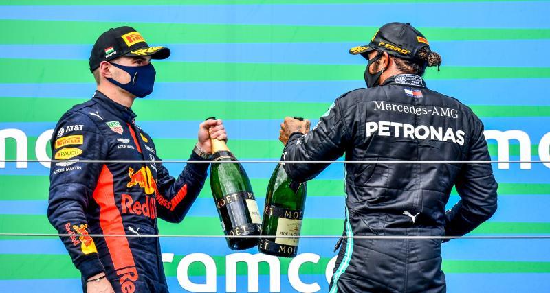 """Verstappen fait l'éloge de son rival : """"Hamilton est l'un des meilleurs de l'histoire de la F1"""""""