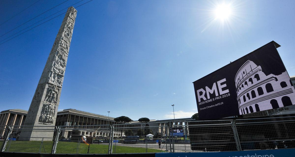 E-Prix de Rome de Formule E : horaires et programme TV du week-end