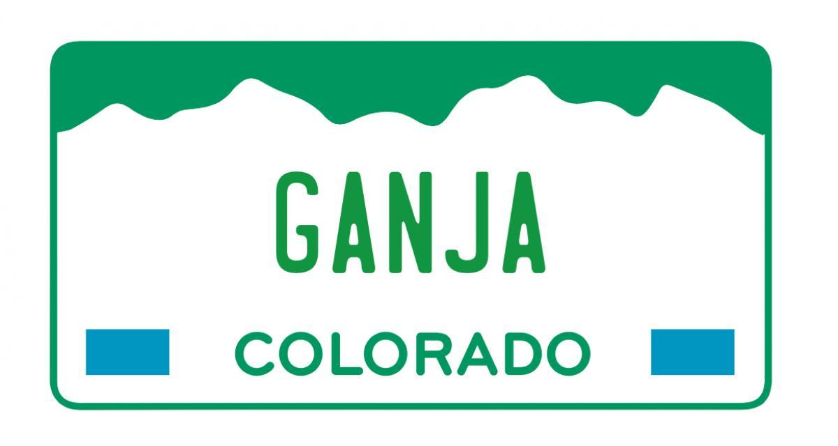 Des plaques d'immatriculation sur le thème de la drogue se vendent pour une petite fortune dans le Colorado